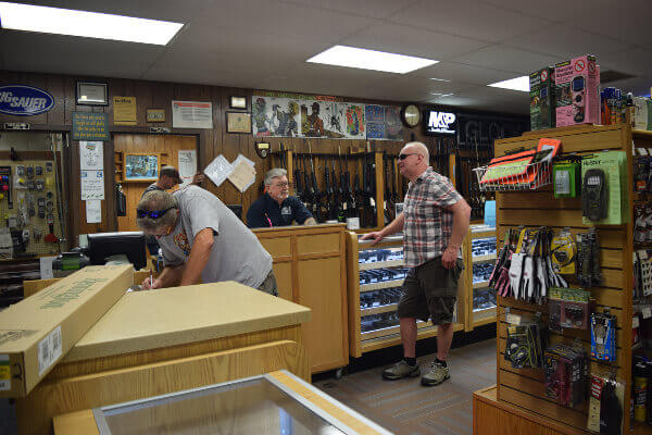 Racine archery and gun shop offers weapon transfers, storage options, and other resources