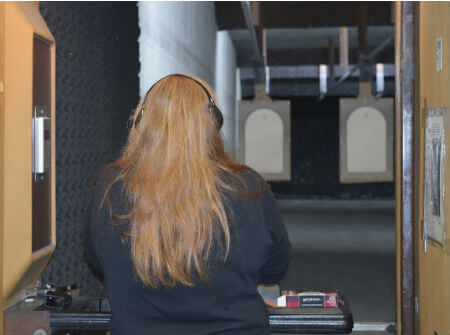 Shoot silenced pistols, magnums and the AR-15 at the #1 Wisconsin indoor shooting range