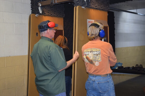 Ventilation, bullet-proof windows and reinforced concrete among the state-of-the-art safety installments for Racine indoor firing range
