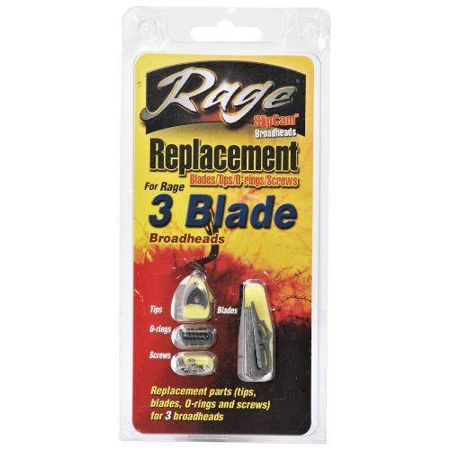 Rage Replacement Blade Kit -3 Blade