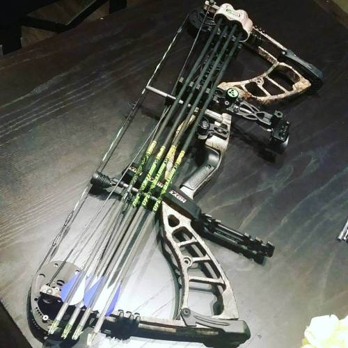 long draw compound bow