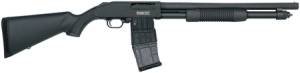 Mossberg pump-action shotgun