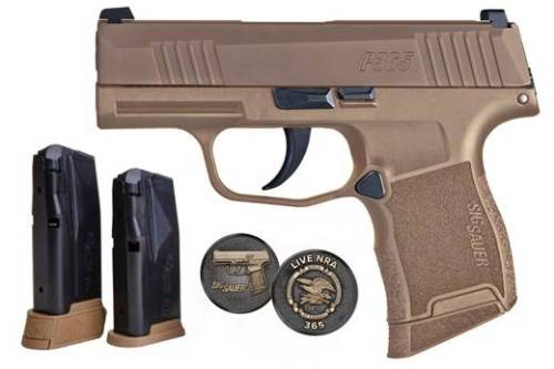 "SIG P365 NRA 9MM 3.1"" for Sale Online"