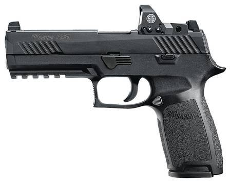 Sig P320F Full Size 9mm w/Nightsights & Romeo 1 Reflex Sight for Sale online 320F-9-BSS-RX