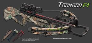Parker Tornado crossbow w/IR Scope Pkg for sale X121IR