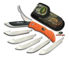 OUTDOOR EDGE RAZOR-PRO, ORANGE W/6 REPL. BLADES