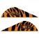 "BOHNING BLAZER VANES - 2"", ORANGE TIGER, DOZEN"