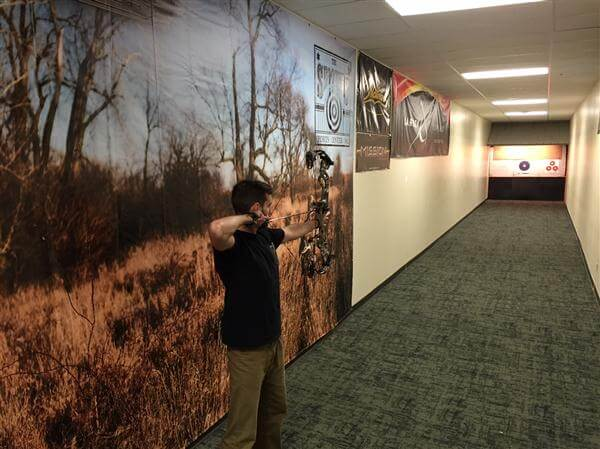 Indoor Archery Range WI